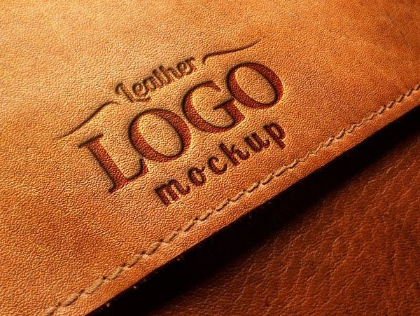 Download Embossed Leather Logo Mockup Psd Logo Mockup Free Logo Mockup Psd Logo Mockups Psd