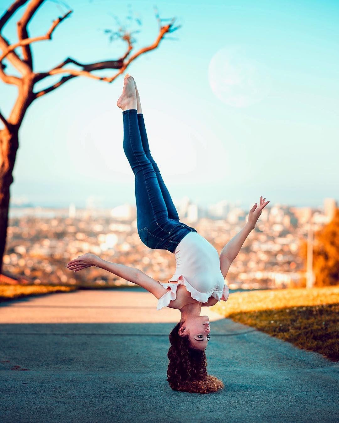 Caption this marksingerman sofie clarice dossi in 2019 sofie dossi gymnastics - Sofie dossi gymnastics ...