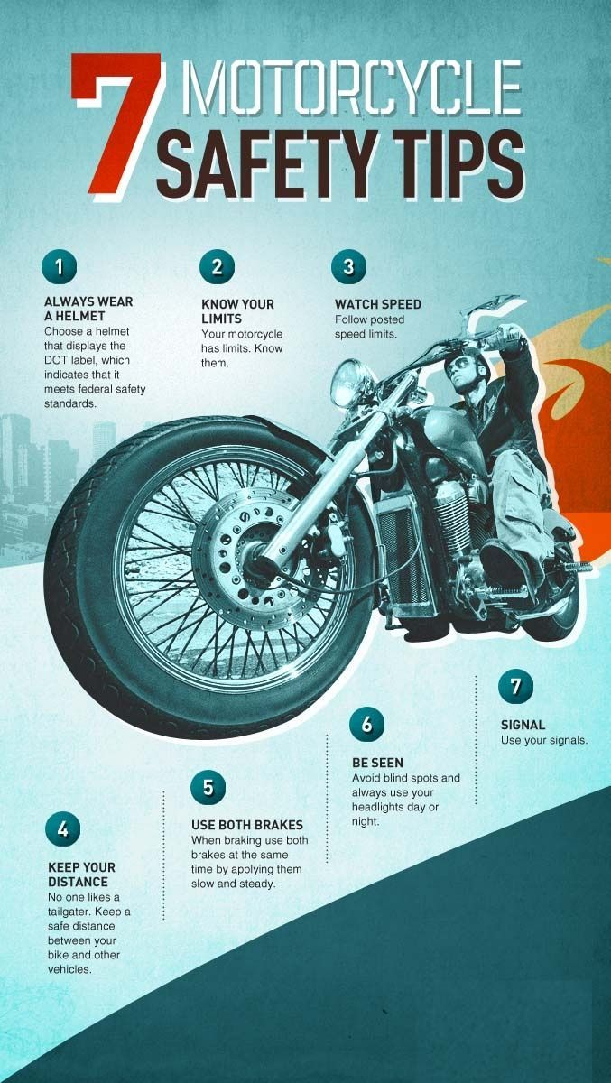 Pin on Motorcycle Safety