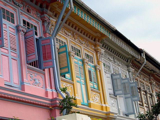 Pastel Buildings Singapore Architecture Building Architectural Practice