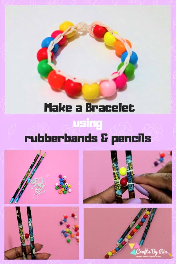 make your own rubber bracelets