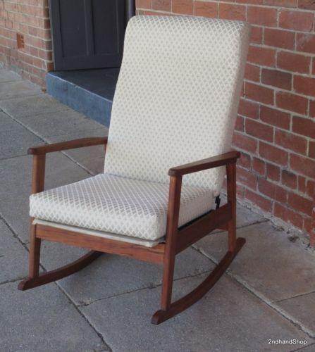 Ebay Danish Styledanishesrocking Chairsvintage
