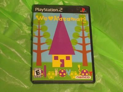 Complete We Love Katamari for PS2 Playstation 2