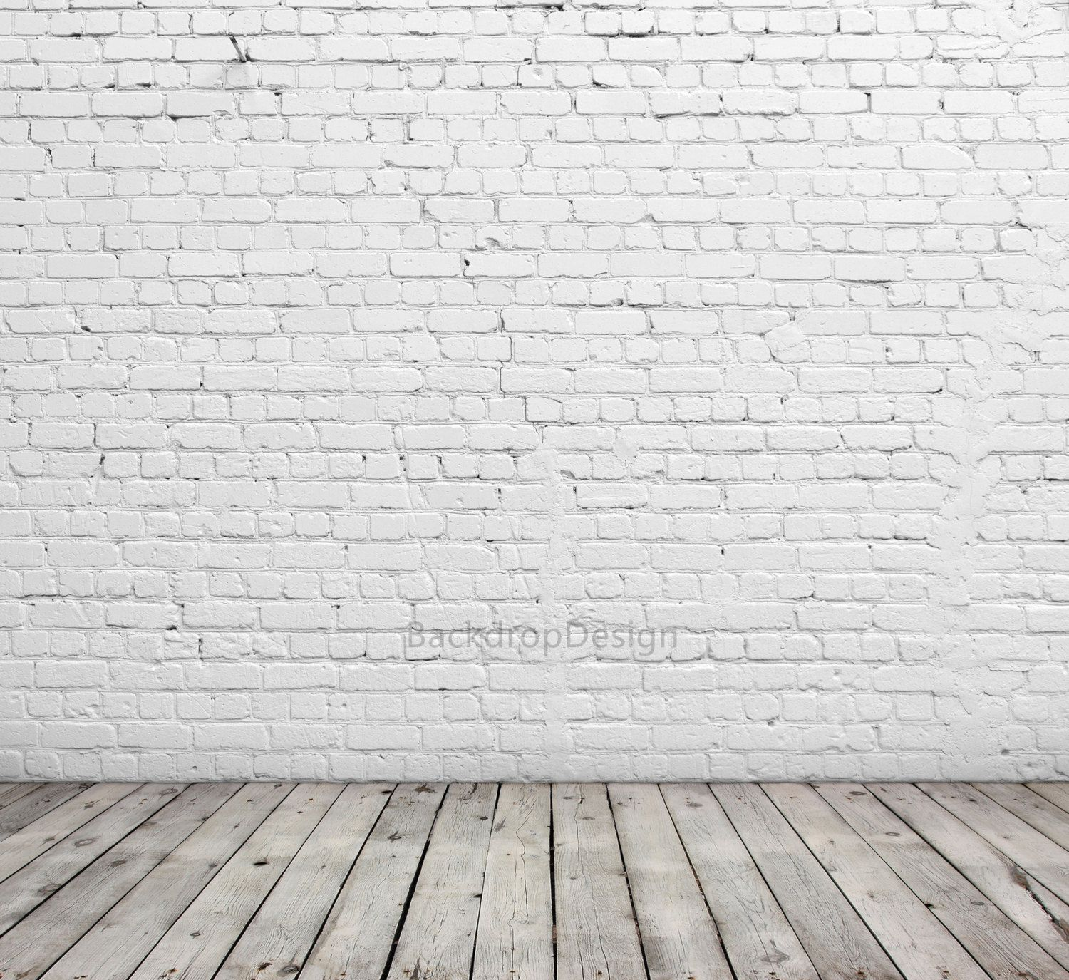Chic White Brick Backdrop Good White Brick Wall With Wooden Etsy Brick Backdrops Brick Wall Backdrop Brick Wall Background