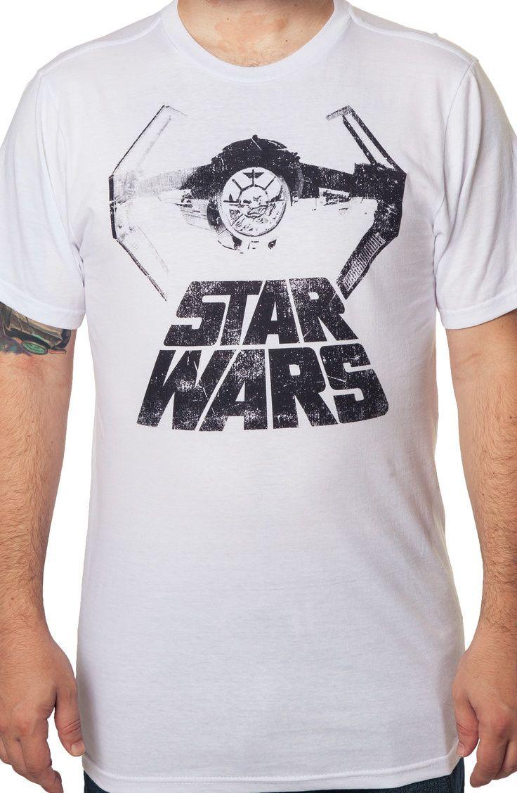 TIE Starfighter Star Wars T-Shirt: Star Wars Mens T-Shirt