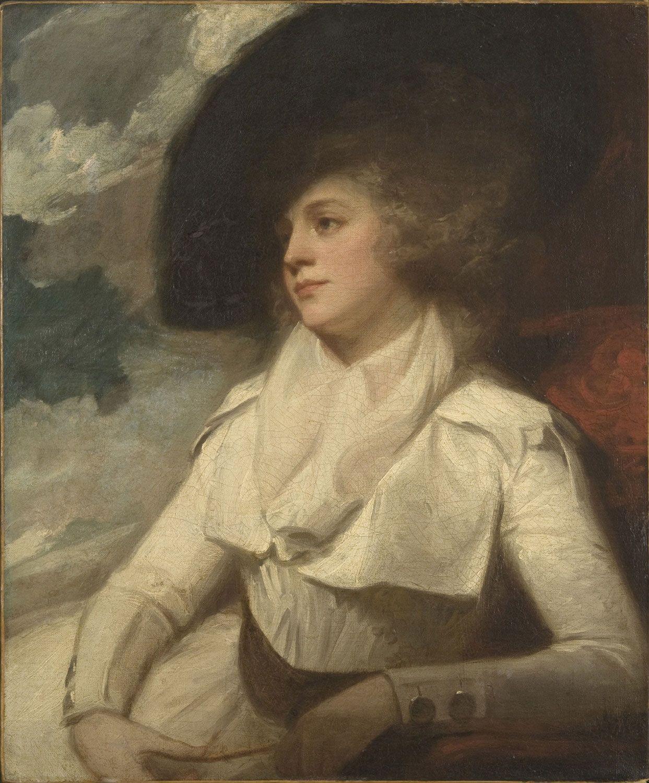 Unknown lady, ca. 1786. George Romney