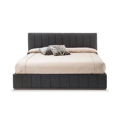 Best H By Adriana Hoyos Upholstered Standard Bed Color Light 400 x 300