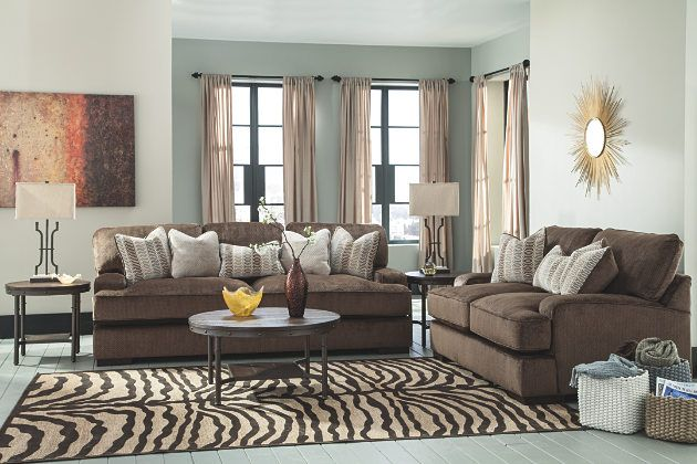 Fabulous Chocolate Brown Couches And Loveseats From The Fielding Home Interior And Landscaping Synyenasavecom