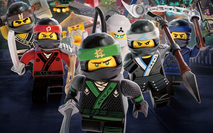 T l charger fonds d 39 cran le lego ninjago le film 4k des - Telecharger ninjago ...