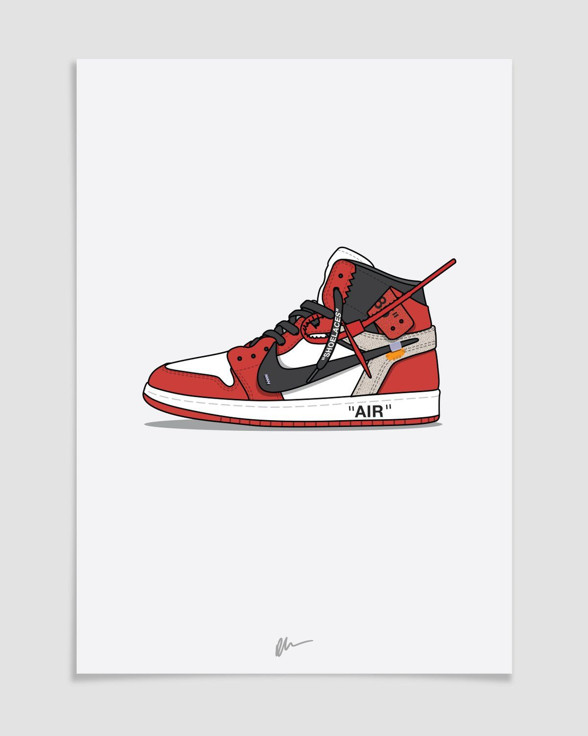 sale retailer 21877 27a2c Image of ☆ NEW ☆ The Ten - Off-White Air Jordan 1 Chicago