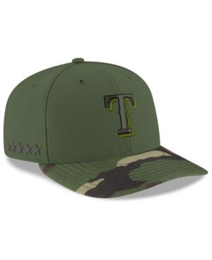 brand new 88b06 30140 New Era Texas Rangers 2017 Memorial Day Low Profile 59FIFTY Cap - Green 7 3  8