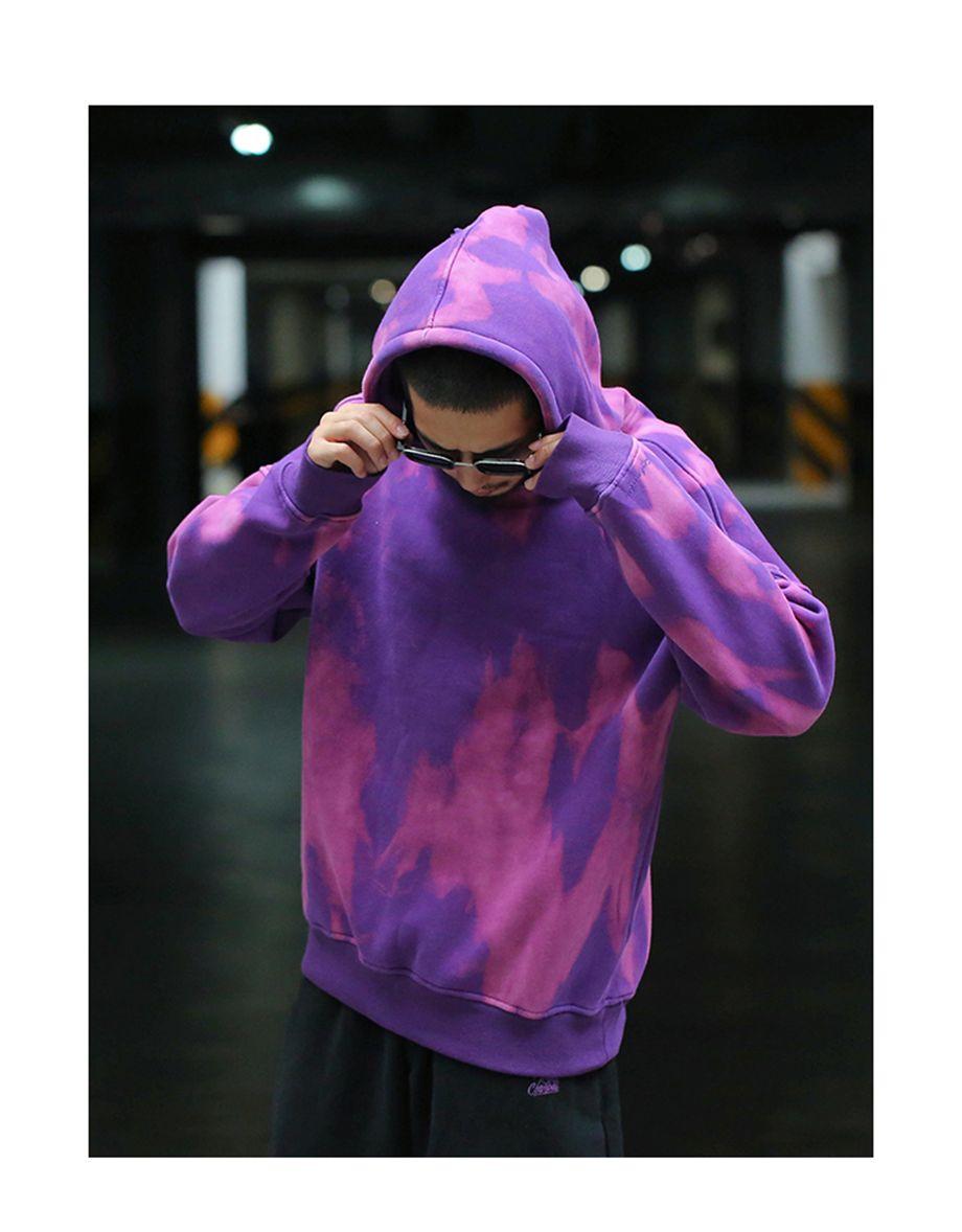 how to bleach dye hoodie
