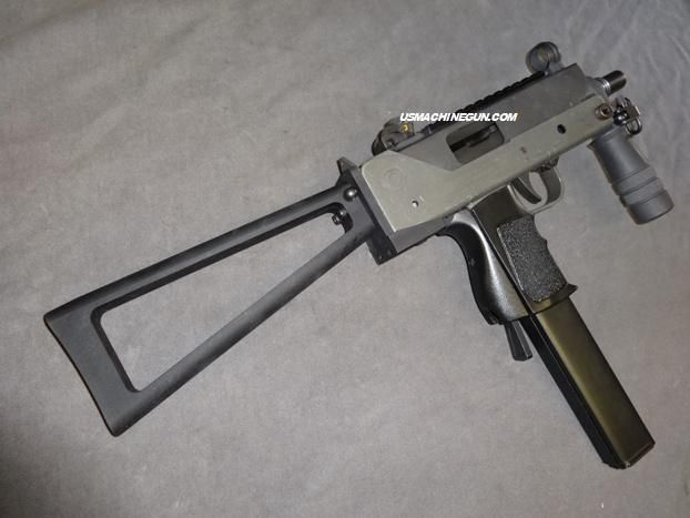 Galil Style Rear Stock w/ Stock Adapter for Mac-10 SMG  This