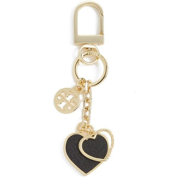 5b70058137d Tory Burch  Logo Heart  Bag Charm ( 60) found on Polyvore featuring  jewelry