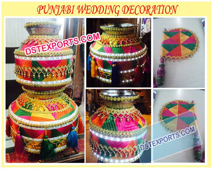 Wedding #Punjabi #Decoration #Matka/Pots/Jagos #Dstexports