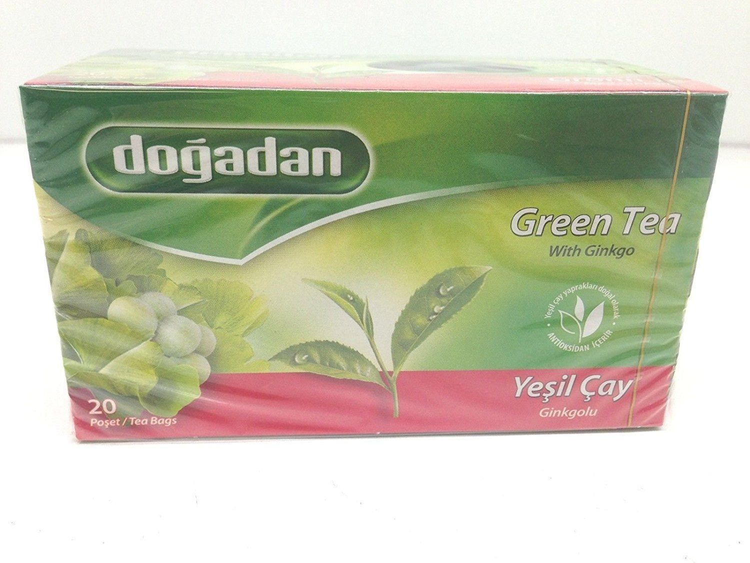 Dogadan green tea with ginkgo 3 pack each 20 tea bags x 3 dogadan green tea with ginkgo 3 pack each 20 tea bags x 3 izmirmasajfo Images