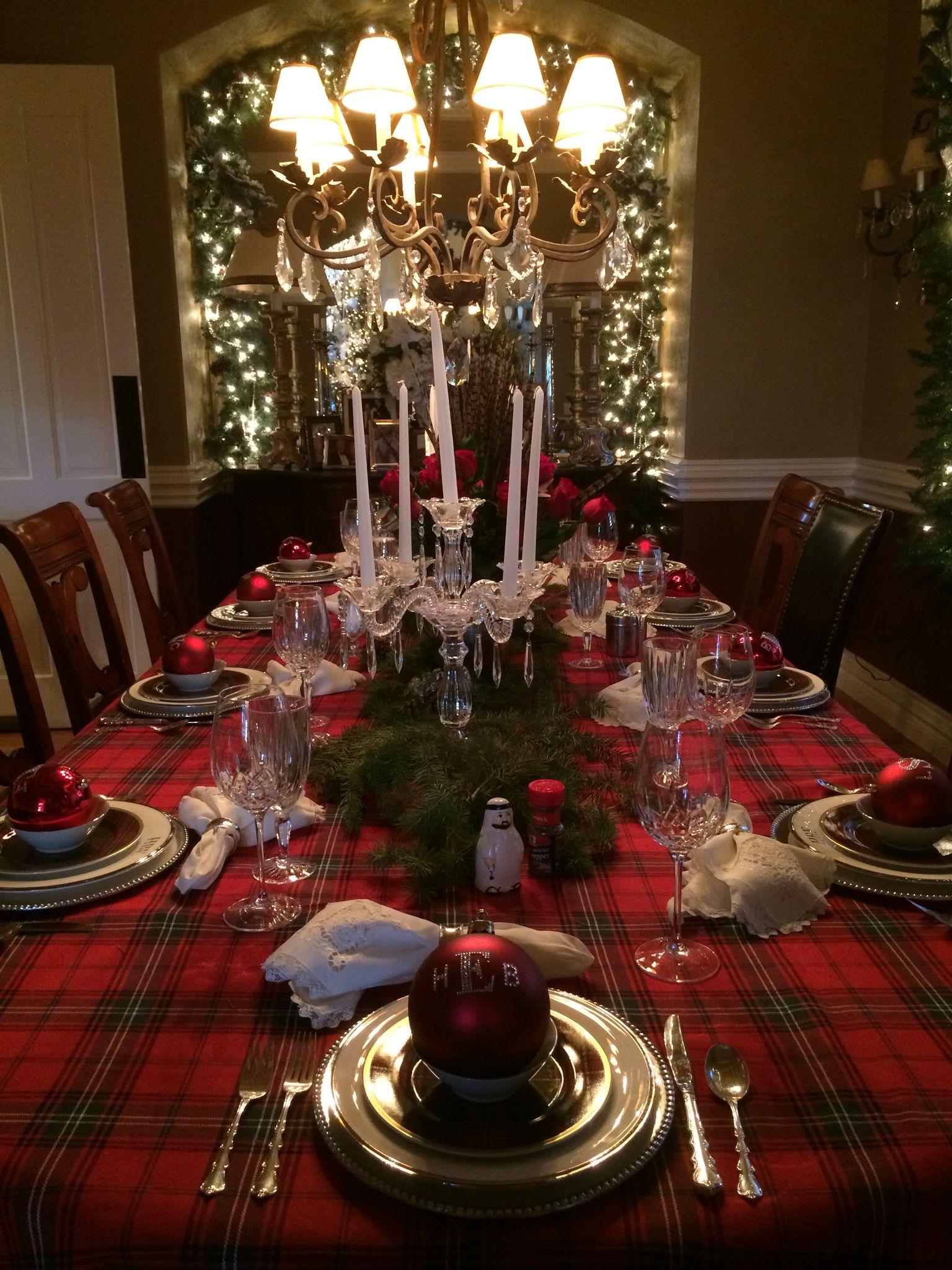 Christmas Eve Dinner Table Christmas Table Christmas Dinner Table Christmas Table Decorations