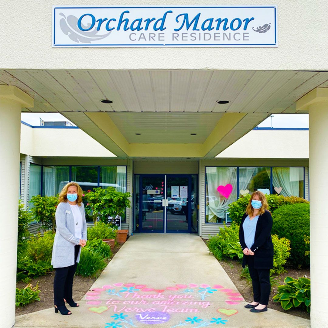 A big shout out to our staff and residents in orchard