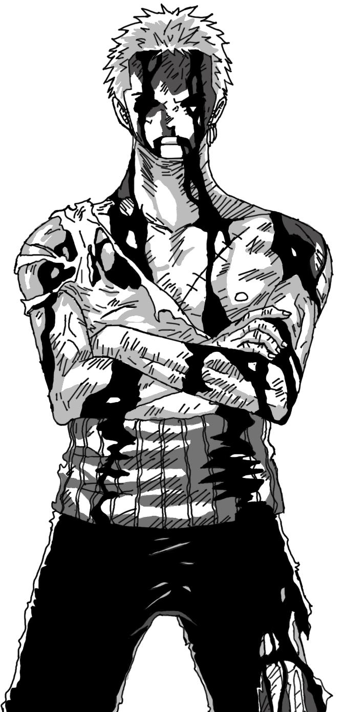 One Piece Roronoa Zoro By Shadows111 One Piece Tattoos One Piece Manga Zoro One Piece
