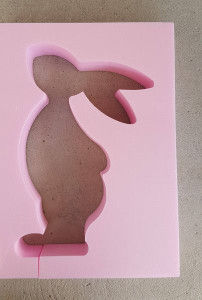 Weiteres - Beton Giessform - OSTERHASI - 20 cm - ein Designerstück von BIF-Hermes bei DaWanda #gesso