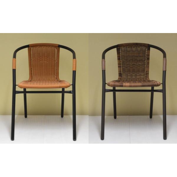 Sedie Da Giardino Economiche.Sedie In Polyrattan E Metallo Modello Choice Da Esterno