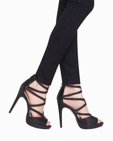 2bb86bb5f8a Appolina - ShoeMint (Big Sale) Black Strappy Heels