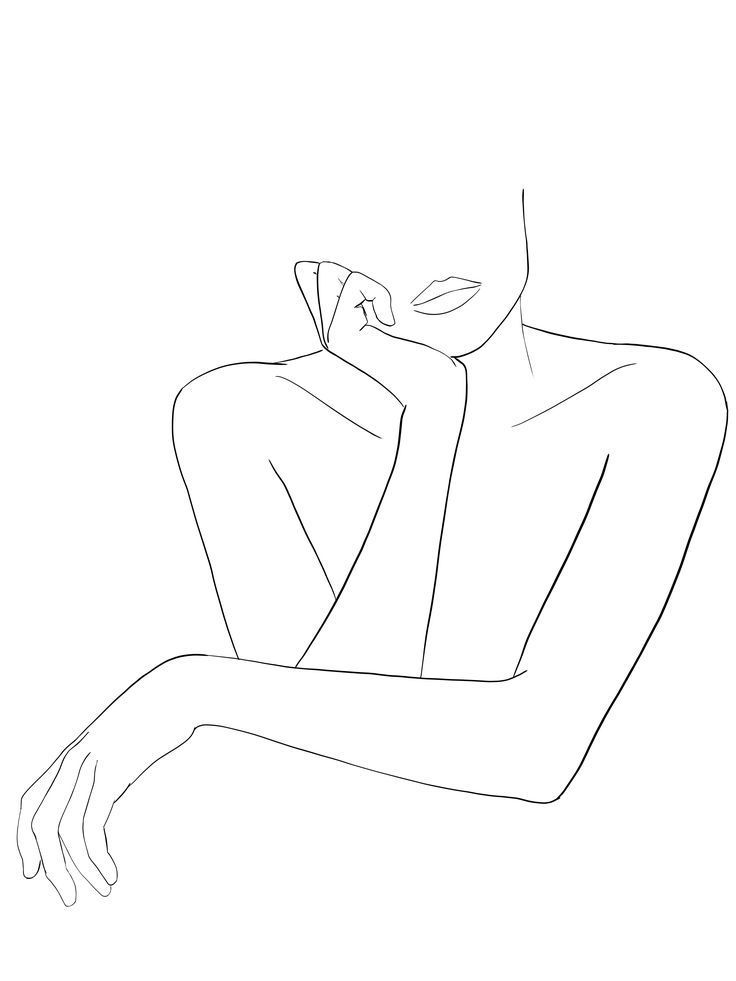 Photo of Wallpapers Tumblr | woman hands line art #backgroundtumblrpc #wal …