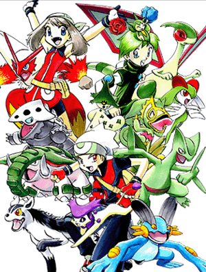ef6e7d243fd Pokémon Adventures. Ruby Sapphire