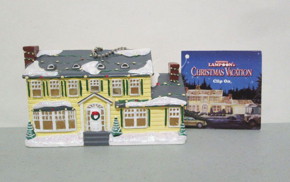 National Lampoon's Christmas Vacation House Light Up Clip On Ornament Kurt Adler