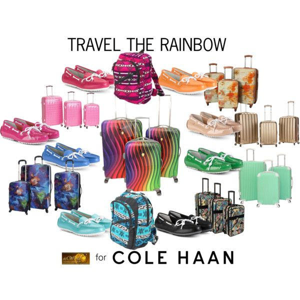 """""""Hit the Road With Cole Haan: Contest Entry"""" by ecworld on Polyvore"""