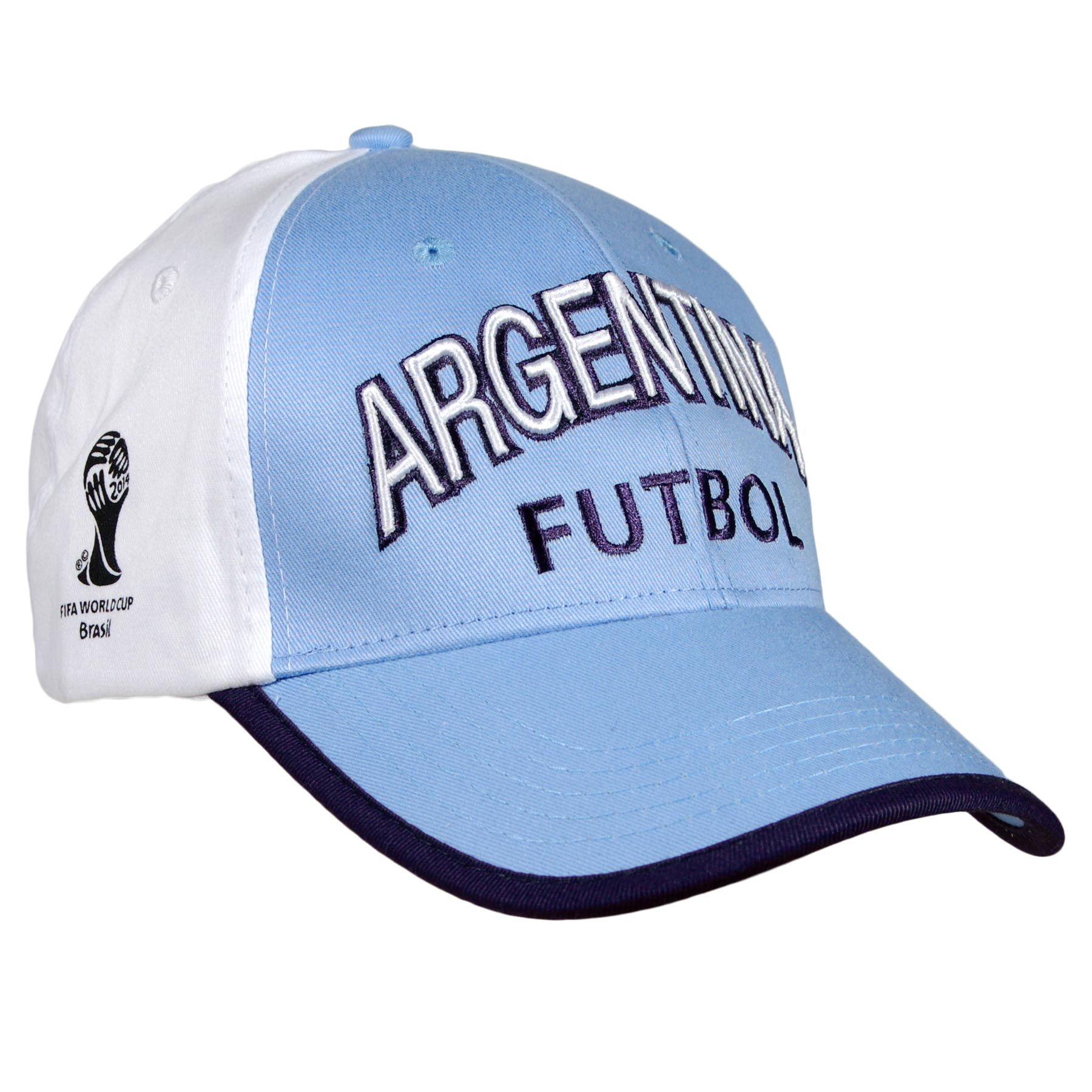 326a517d5d4 Argentina 2014 FIFA World Cup Bola Cap - IceJerseys.com - Official Fan Shop