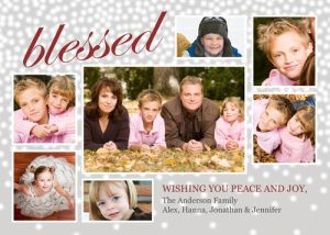 Love this new holiday card with lots of photos! From PhotoCardCafe.com