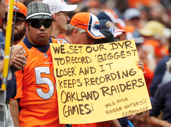 Top 100 Funniest Memes Of All Time : The 100 best fan signs ever fan signs raiders and fans