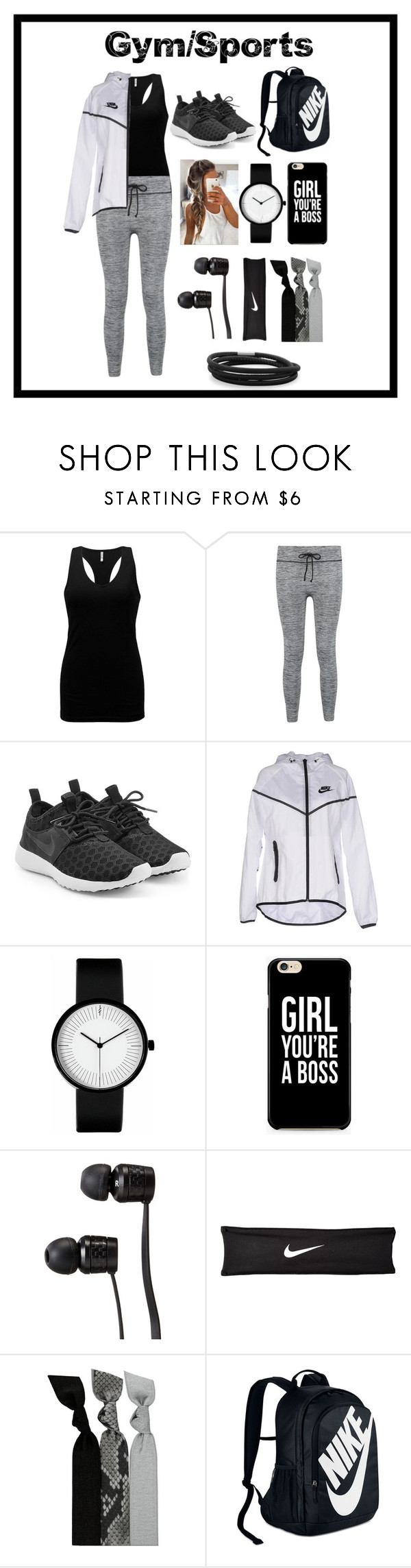 """Gym/Sports Outfit #88"" by stylelover03 ❤ liked on Polyvore featuring BKE, NIKE, Vans, Emi-Jay and BillyTheTree"