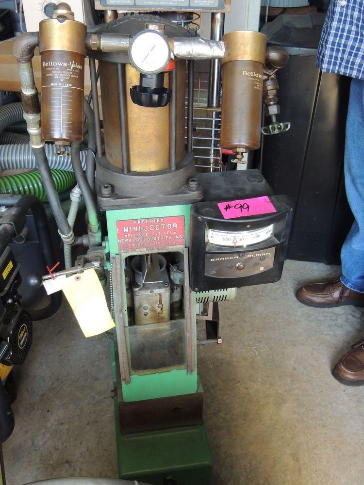 Frohring minijector model 45 injection molding machine