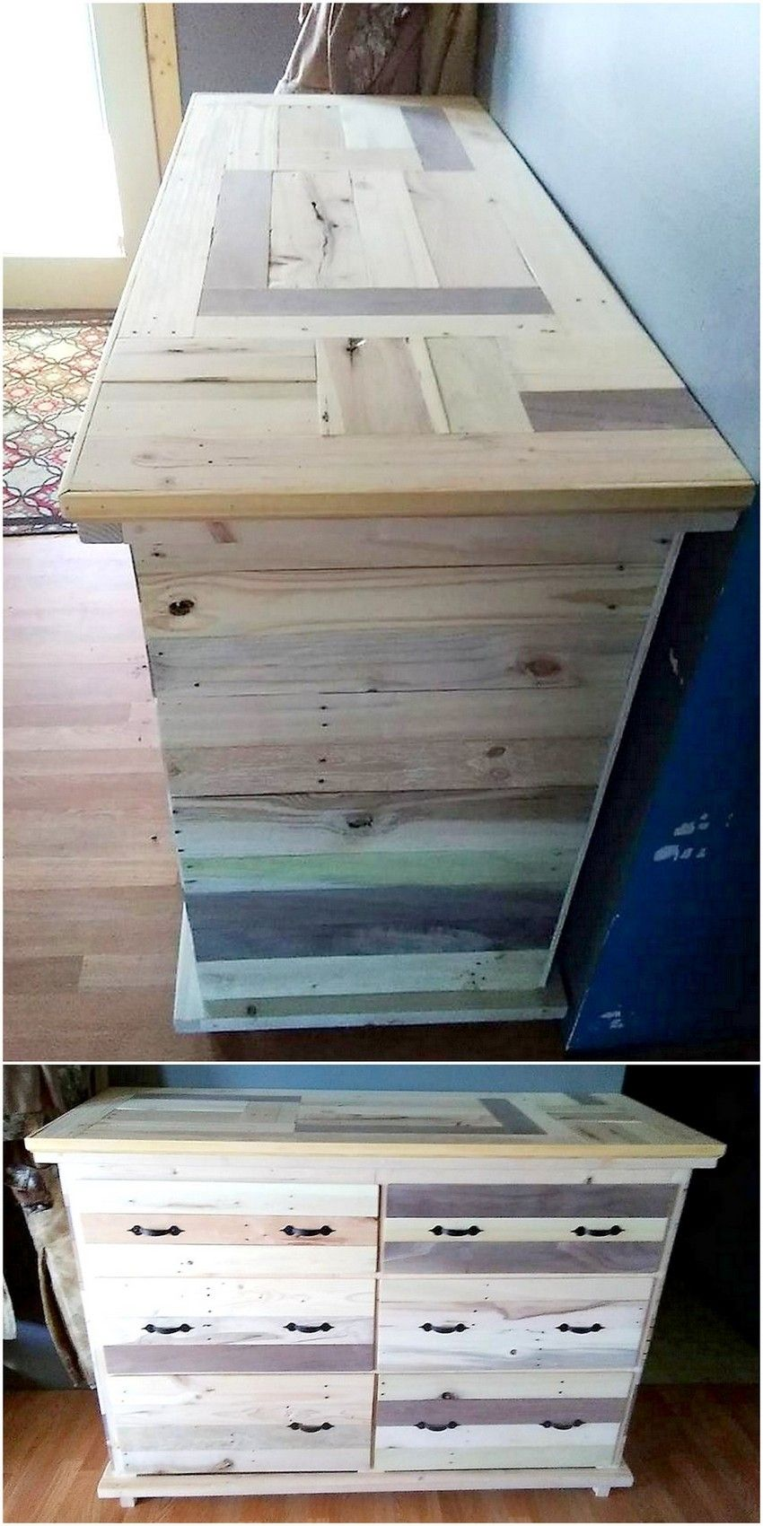 Creative Recycling Ideas For Used Wooden Pallets Easy Pallet Projects And Diy Wood Pallets Ideas Wooden Pallets Wood Pallets Pallet Dresser