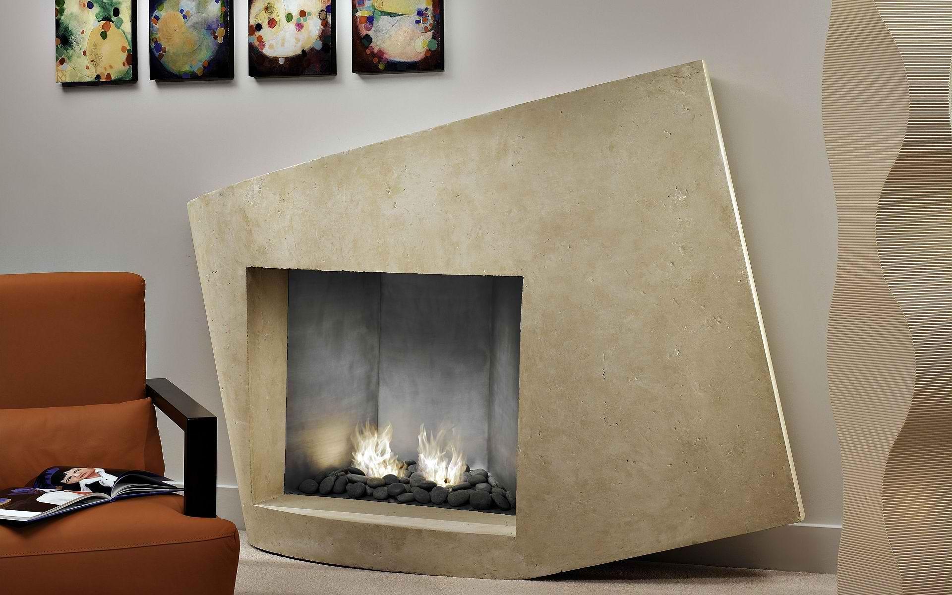 Corner gas fireplace design ideas | 2717 backyard | Pinterest ...