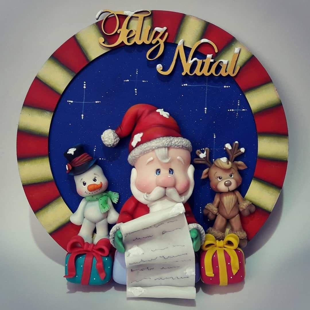 Pin De Jimena Medina Sosa En Edson Rossi Biscuit Porcelana Fría Navidad Navidad De Arcilla Polimérica Manualidades