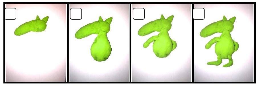 Loup En Pâte à Modeler Petit Loup Pinterest Montessori