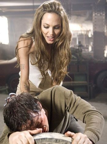 a12e3992d9ef Angelina Jolie in Wanted. I want to be this character. Yes she s an  assassin