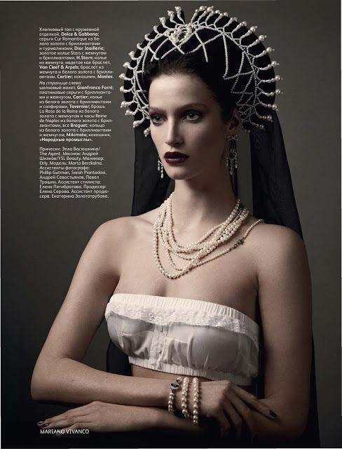 Vogue Russia April 2011