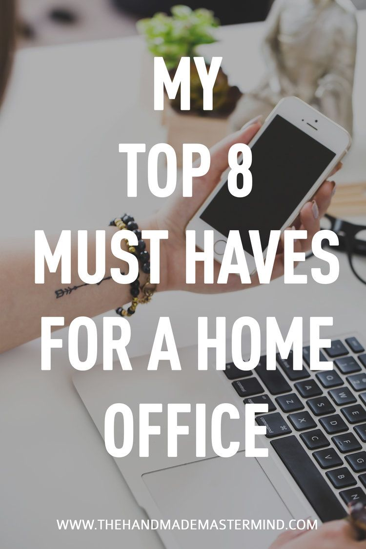 Must Haves For A Home Office, Home Office Supply List   The Handmade  Mastermind