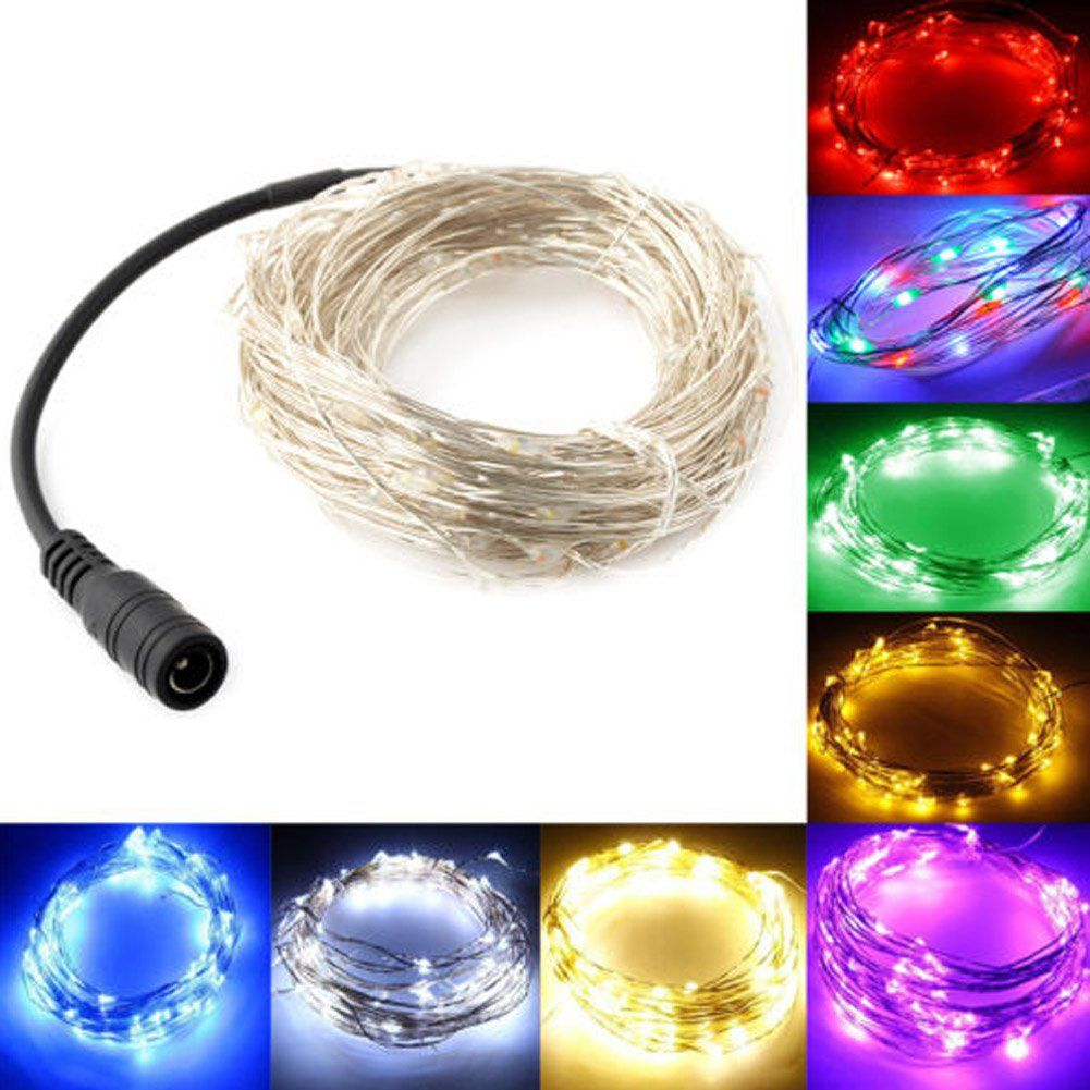 Magnificent Blue Led Wire String Lights Image Collection - Simple ...