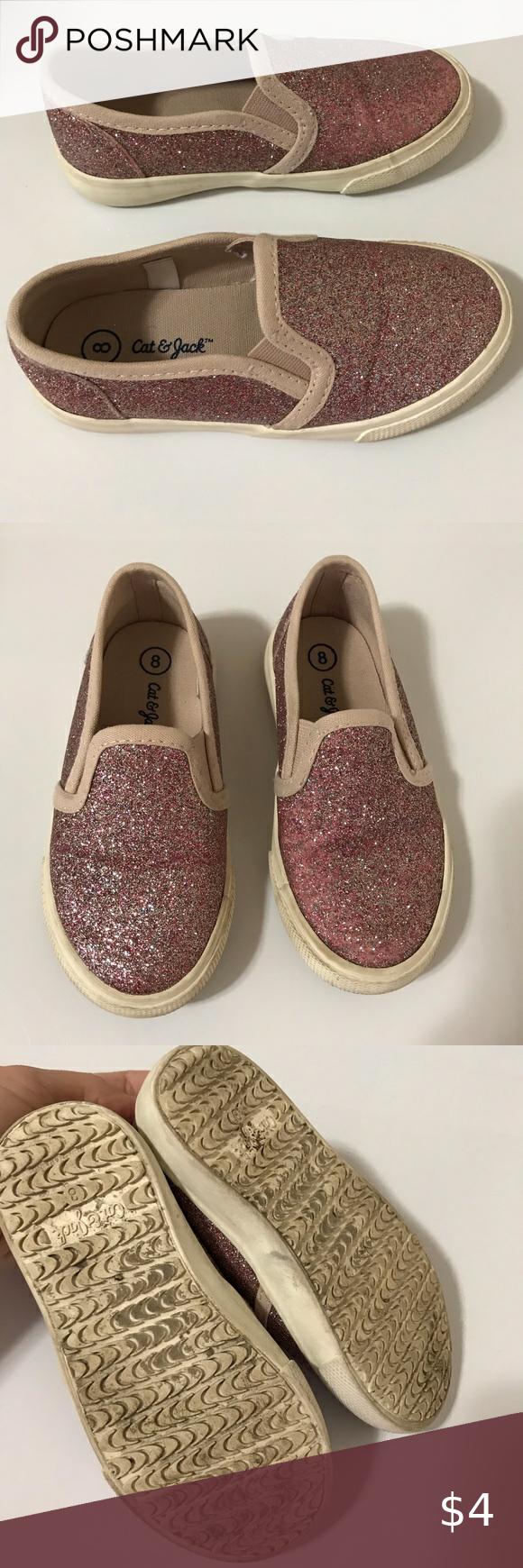 Target Cat \u0026 Jack Toddler Glitter Shoes