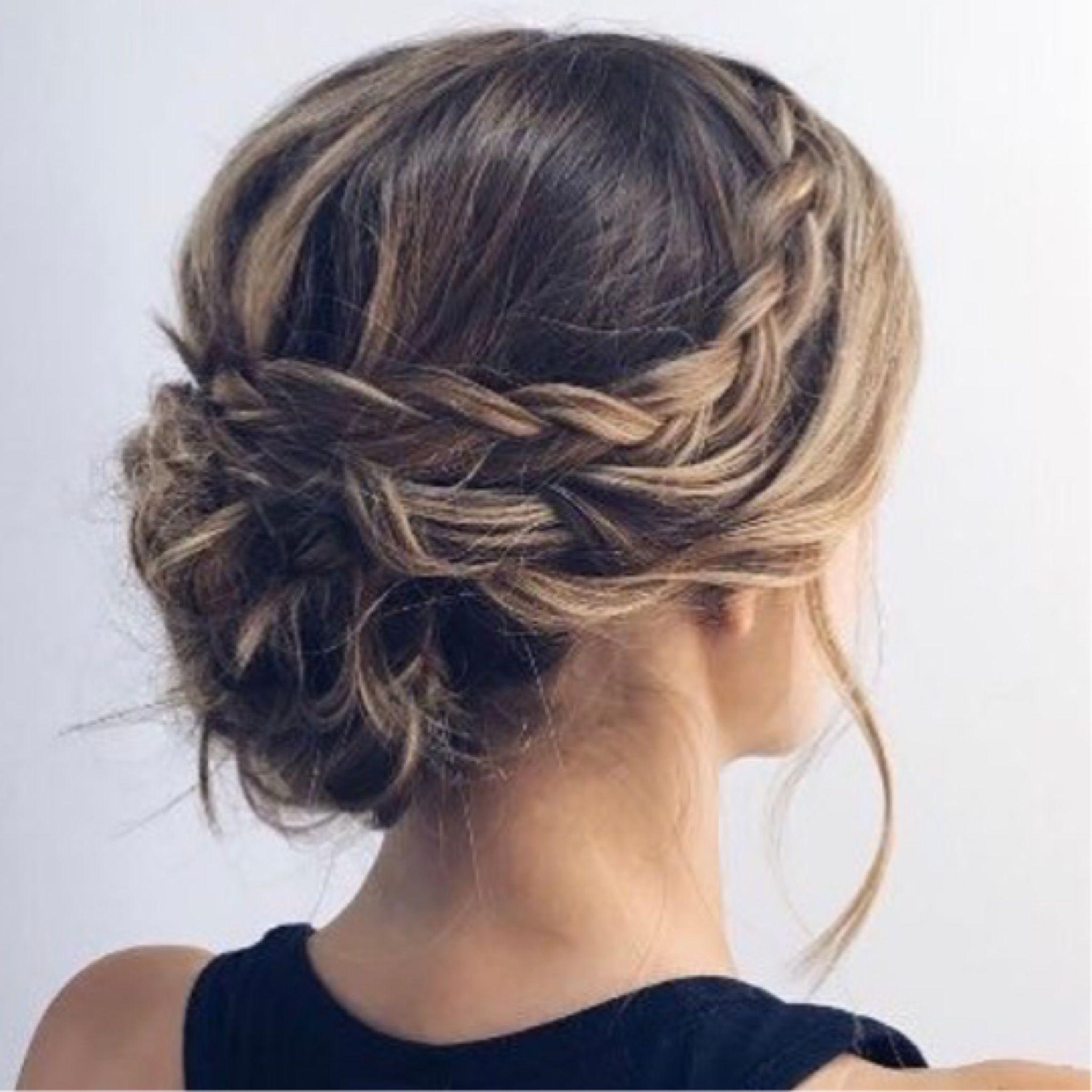 Peinados De Fiesta Para Pelo Medio