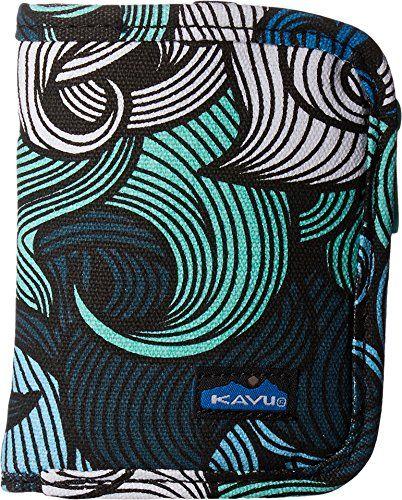 KAVU Women's Zippy Wallet Ocean Waves Handbag