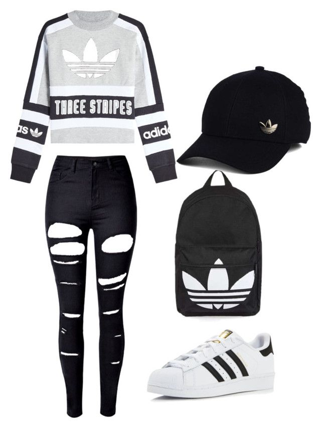 """Untitled #1"" by hujbhf ❤ liked on Polyvore featuring interior, interiors, interior design, home, home decor, interior decorating, WithChic, adidas Originals, adidas and Topshop"