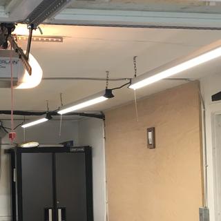 User Submitted Image Shop Lighting Led Shop Lights Garage Lighting