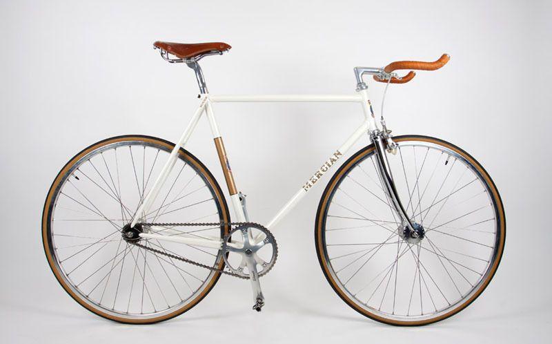 White Super Vigorelli Montain Bike Bike Bike Gear