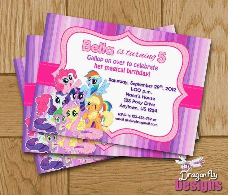 Decoración De Fiestas Infantiles De My Little Pony Fiestas